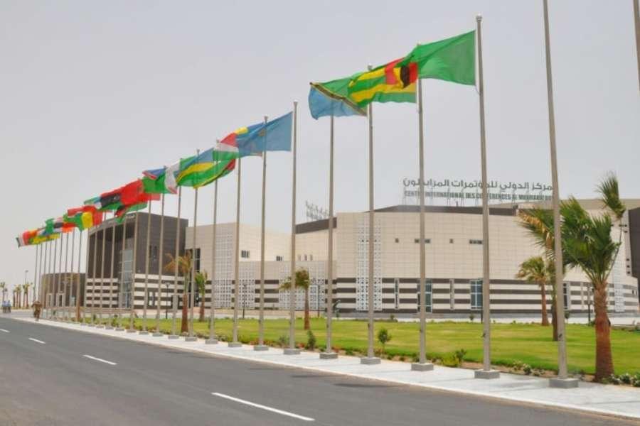 Nouveau centre international de conférences de Nouakchott où se tient le sommet (Photo TV5)