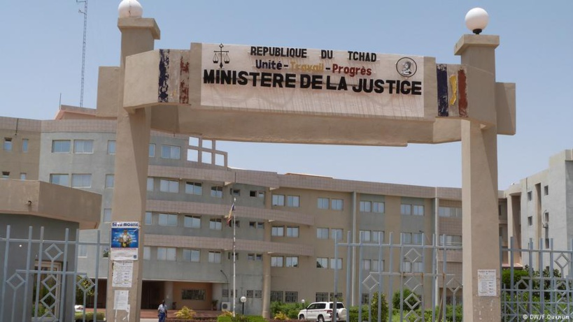 Le ministère de la justice au Tchad. Crédits : DW