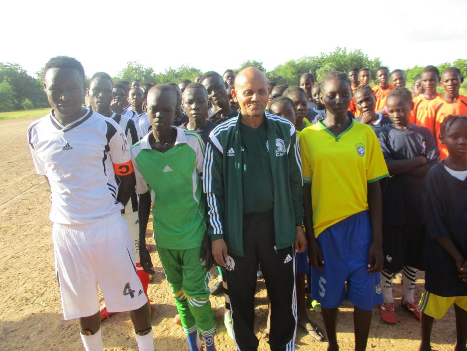 L'équipe de FC Madiago.