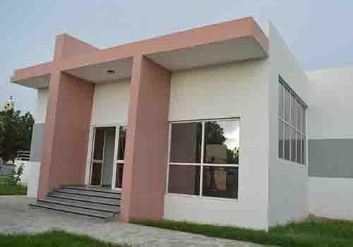 Un modèle de logement social déjà construit dans le 5ème arrondissement de N'Djamena.