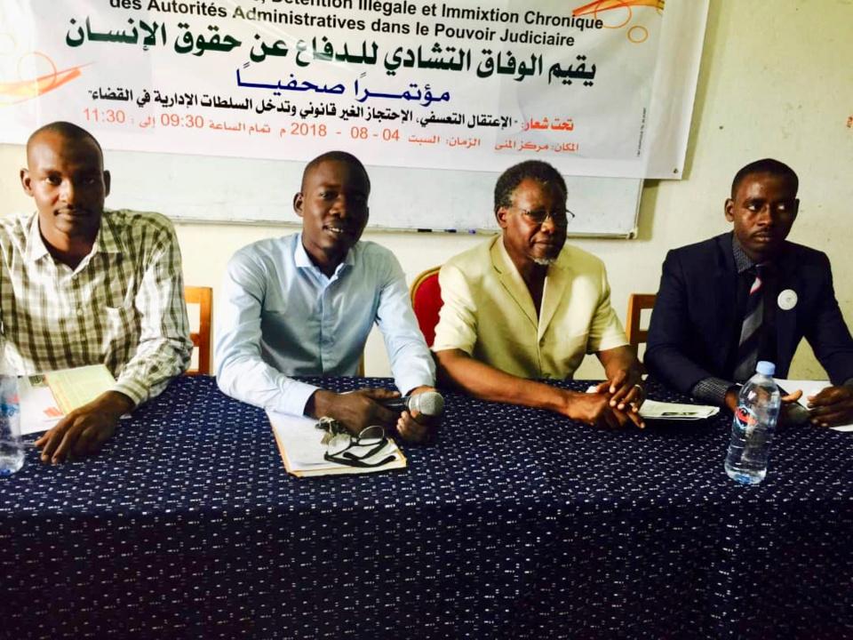 Tchad : une multiplication de rejet des décisions de justice par les autorités régionales, s'inquiète la CTDDH