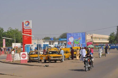 Une rue de N'Djamena. Crédits photo : DR