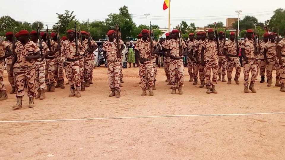 En images : défilé militaire du 11 août à Abéché