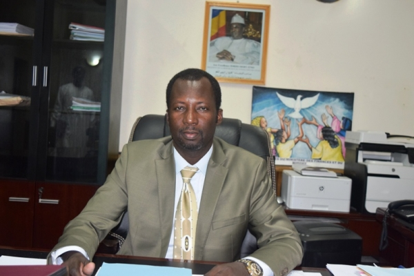 Le ministre des Finances et du Budget, Issa Mahamat Abdelmahmout.
