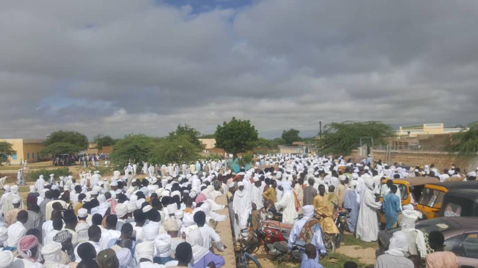 En images : prière de l'Aid-el-Kebir à Abéché