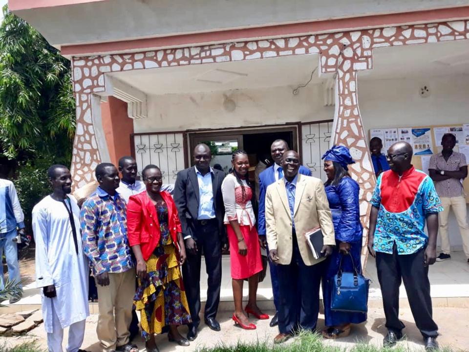 Le jeune parti USPR a lancé ses activités ce lundi 27 août 2018 à N'Djamena. Alwihda Info/D.W