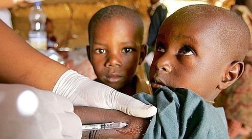 Vaccination contre la méningite au Niger (Illustration).. ISSOUF SANOGO/AFP