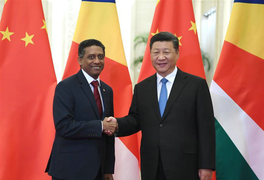 Africa-China ties better than ever: Seychelles President