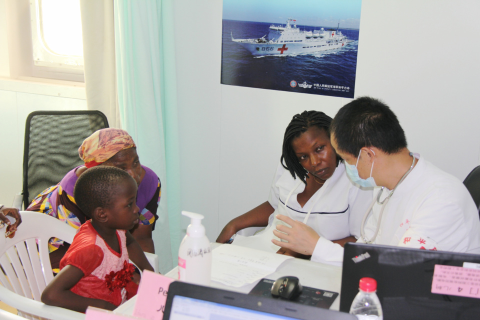 Peace Ark tightens the China-Africa bond with humanitarian assistance