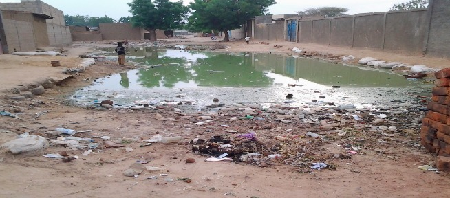 L'insalubrité à N'Djamena, au Tchad. Photo : Alwihda Info