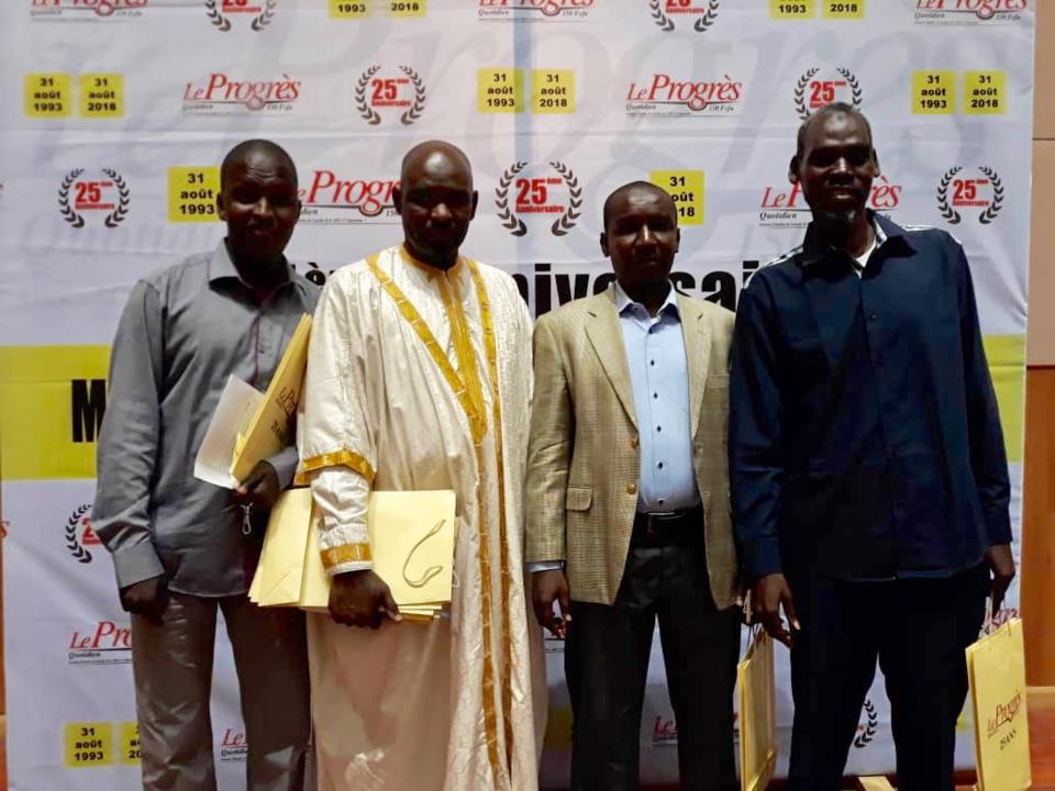 Tchad : distingué pour son professionnalisme, le journal Le Progrès fête 25 ans d'existence