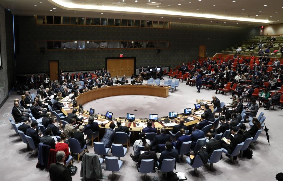 Le Conseil de sécurité de l'ONU — CHINE NOUVELLE/SIPA
