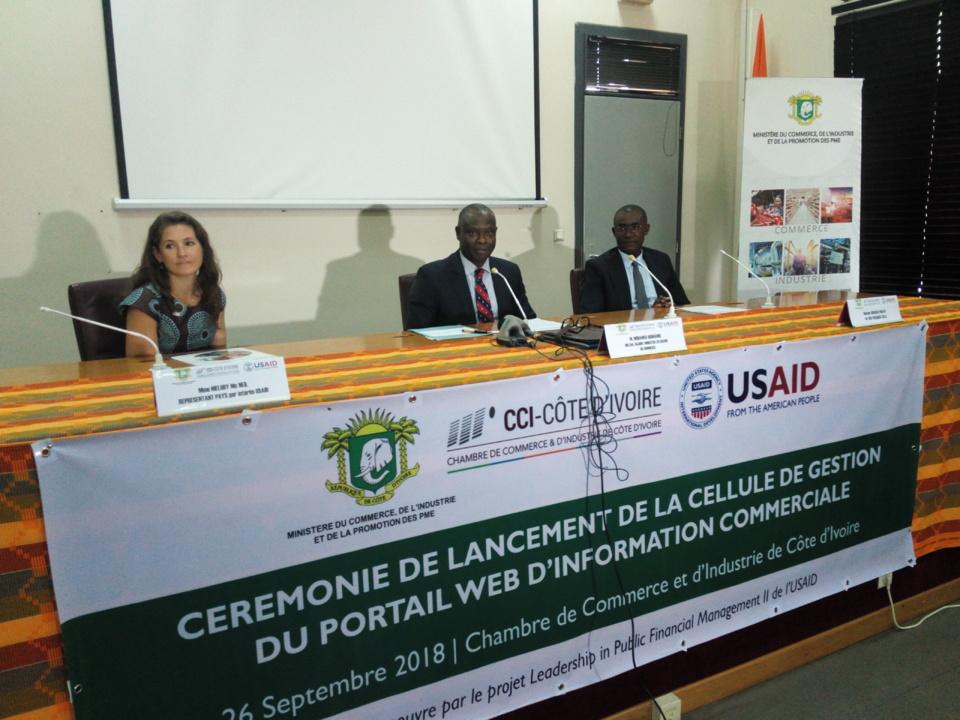 Côte d'Ivoire/Facilitation des échanges commerciaux : La cellule de gestion du portail web d'information, désormais opérationnelle.