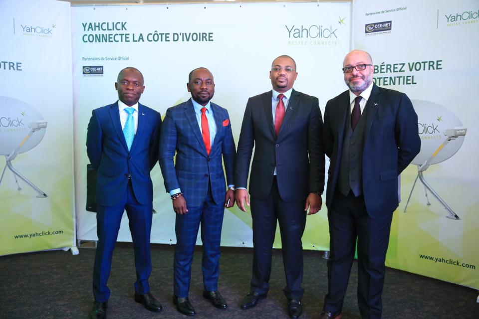 Côte d'Ivoire : YahClick, le leader des services Internet satellitaires haut débit, fait son entrée dans le pays.