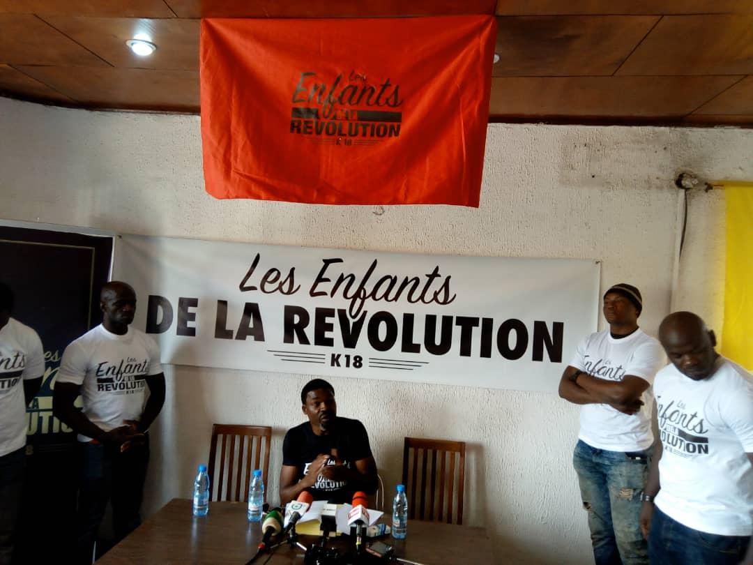 L'artiste Valséro,samedi,01octobre2018 face à la presse(crédit photo:www.lescoopsdafrique.com)