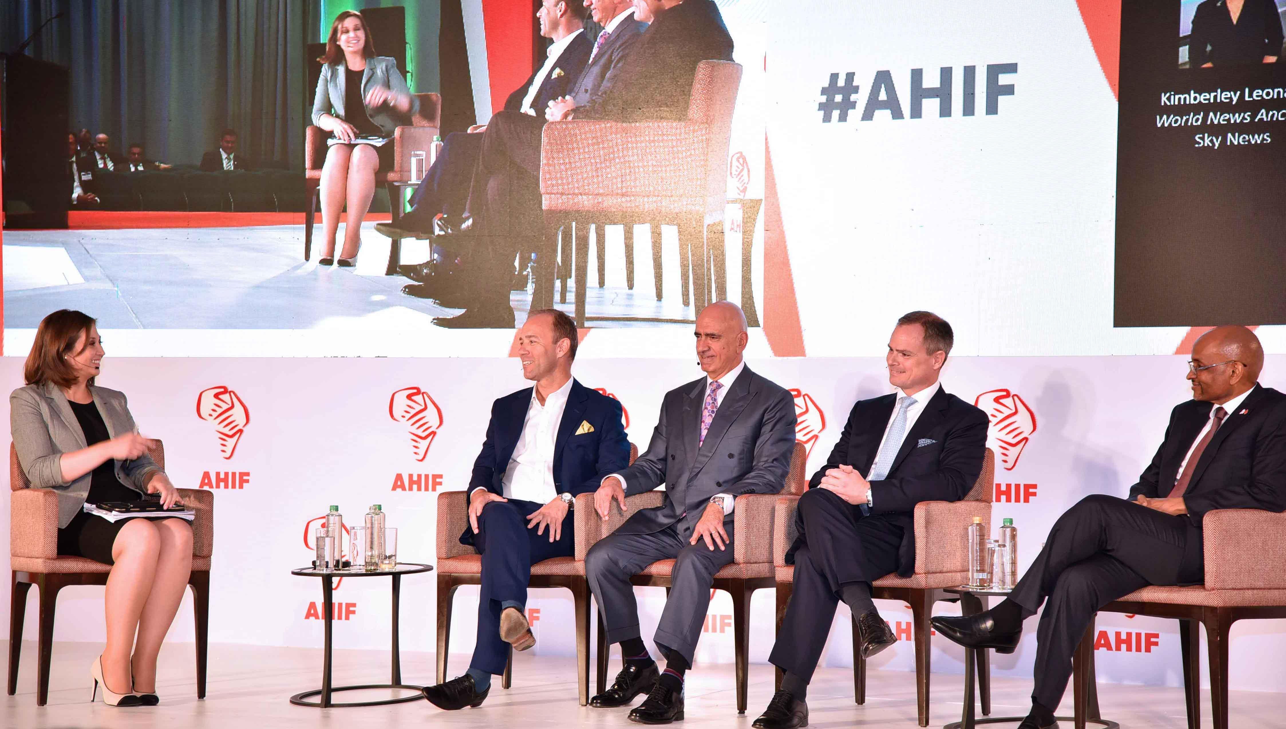Mark Willis, PDG pour le Moyen-Orient et l'Afrique, AccorHotels à la table ronde du panel des responsables régionaux à l'AHIF (Source: AccorHotels).