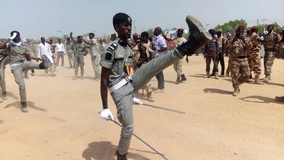 Un soldat tchadien lors d'un défilé. Alwihda Info/archives