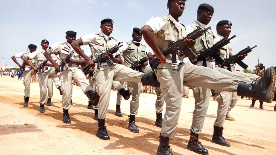 Des militaires tchadiens lors d'un défilé. Alwihda Info/archives