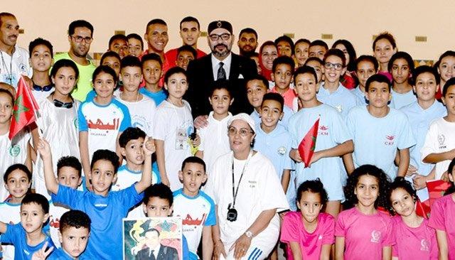 Le Roi du Maroc et la jeunesse marocaine