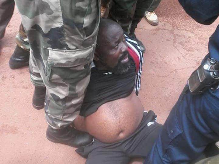 Le Député Rhombot Yekatome arrêté par la gendarmerie à Bangui. Crédits photo : Diaspora