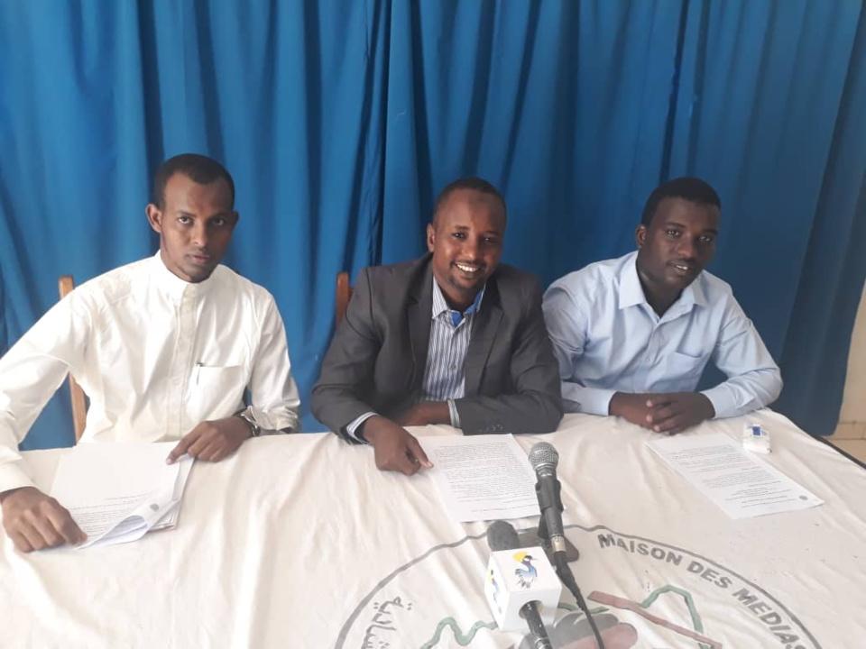 Le président du comité d'organisation de l'association des Jeunes pour le développement du Bahr El Ghazel, Mahamat Nour Adoum Sougoumi. Crédits : Alwihda Info