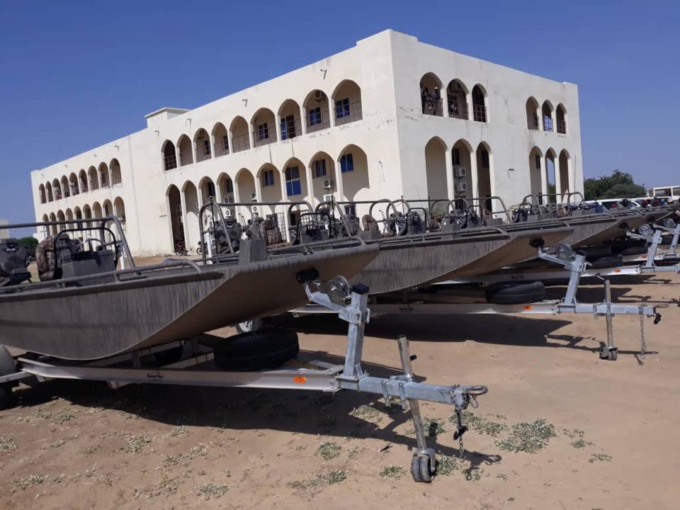 Les Etats-Unis renforcent la capacité fluviale du Tchad dans la lutte contre le terrorisme. © Alwihda Info