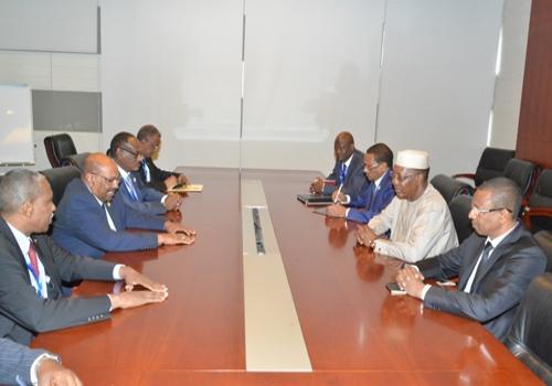 Réunion de travail entre Déby et El-Béchir : Le Tchad veut exploiter le Port-Soudan