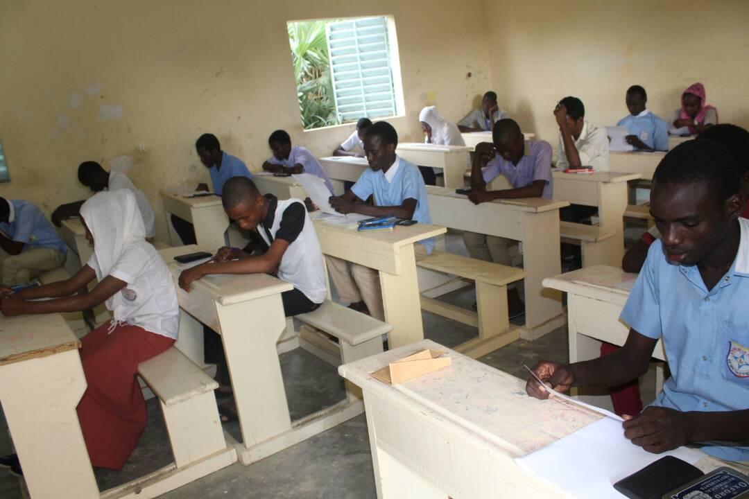 Une salle de classe au Tchad. © Alwihda Info