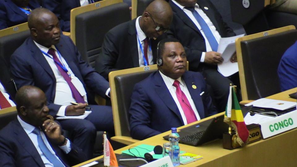 Le délégation congolaise à la 11ème session extraordinaire de l'UA. ©