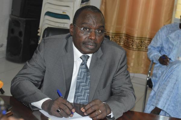 Le ministre des Finances et du Budget, Allali Mahamat Abakar. © DR