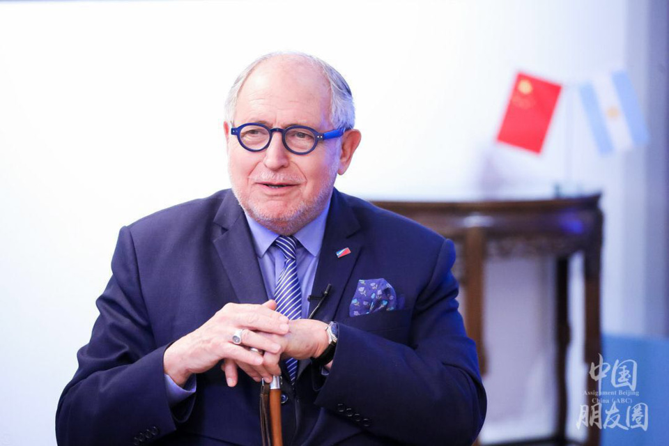 China, Argentina close as neighbors: Argentine Ambassador