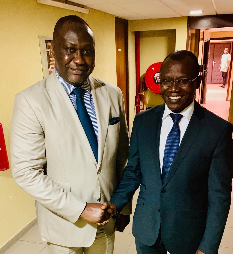 Rencontre du Président-Directeur Général de AFC Monsieur Samaila Zubairu avec le Ministre Togolais des Finances, Monsieur Sani Yaya