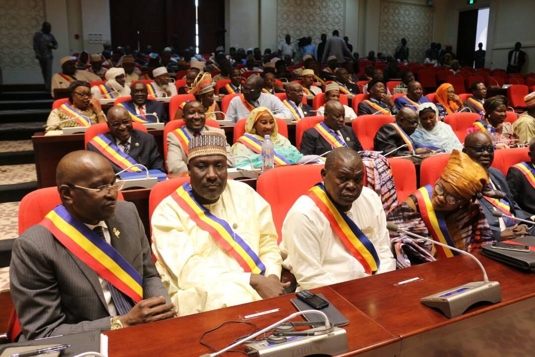 Des députés à l'Assemblée nationale au Tchad. © DR