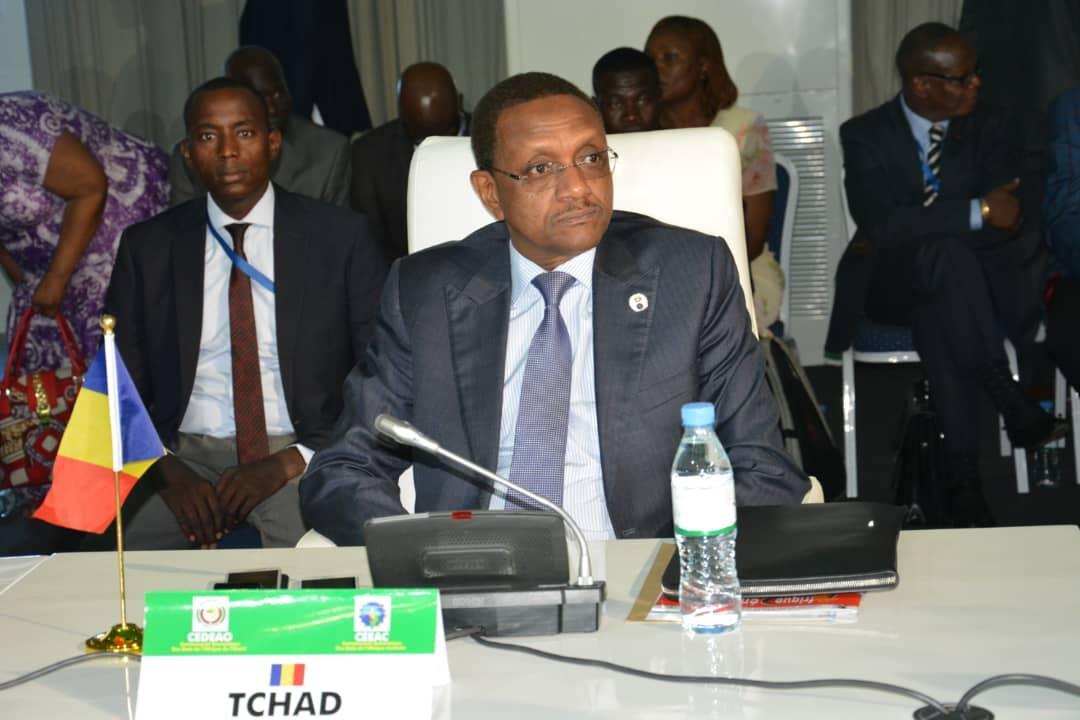 Le ministre tchadien des Affaires Etrangères, de l'Intégration Africaine, de la Coopération Internationale et de la Diaspora, Cherif Mahamat Zene. © DR/Twitter