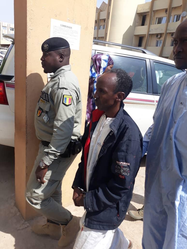 Le colonel de la police Ahmat Senoussi Ochi. © Alwihda Info
