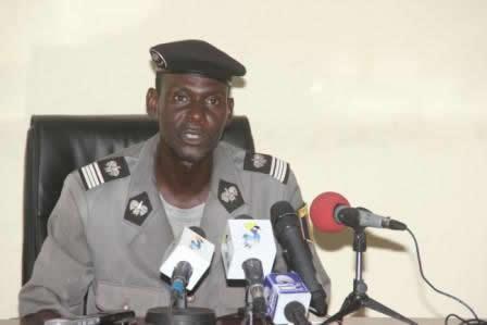 Le porte-parole de la Police nationale, Paul Manga. © DR