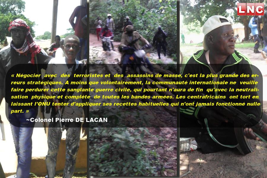 Centrafrique: Les dieux sont tombés sur la tête!