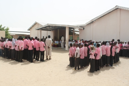 L'école de l'amitié Tchad-Chine à N'Djamena. © DR
