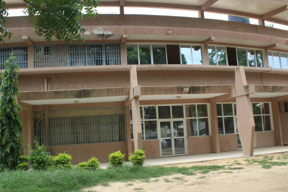 Le rectorat de l'Université de N'Djamena. © Alwihda Info