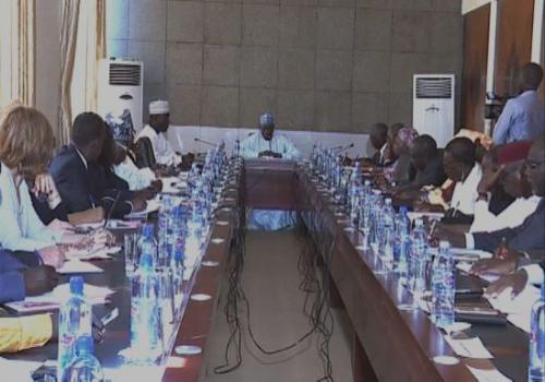 Tchad : réunion sur le système éducatif à N'Djamena. © PR