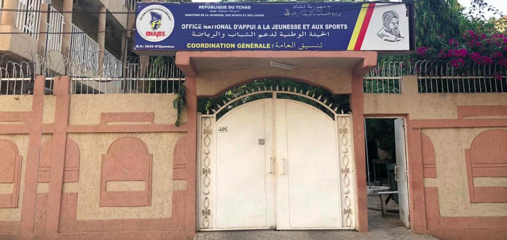 Le siège de l'ONAJES à N'Djamena. © ONAJES