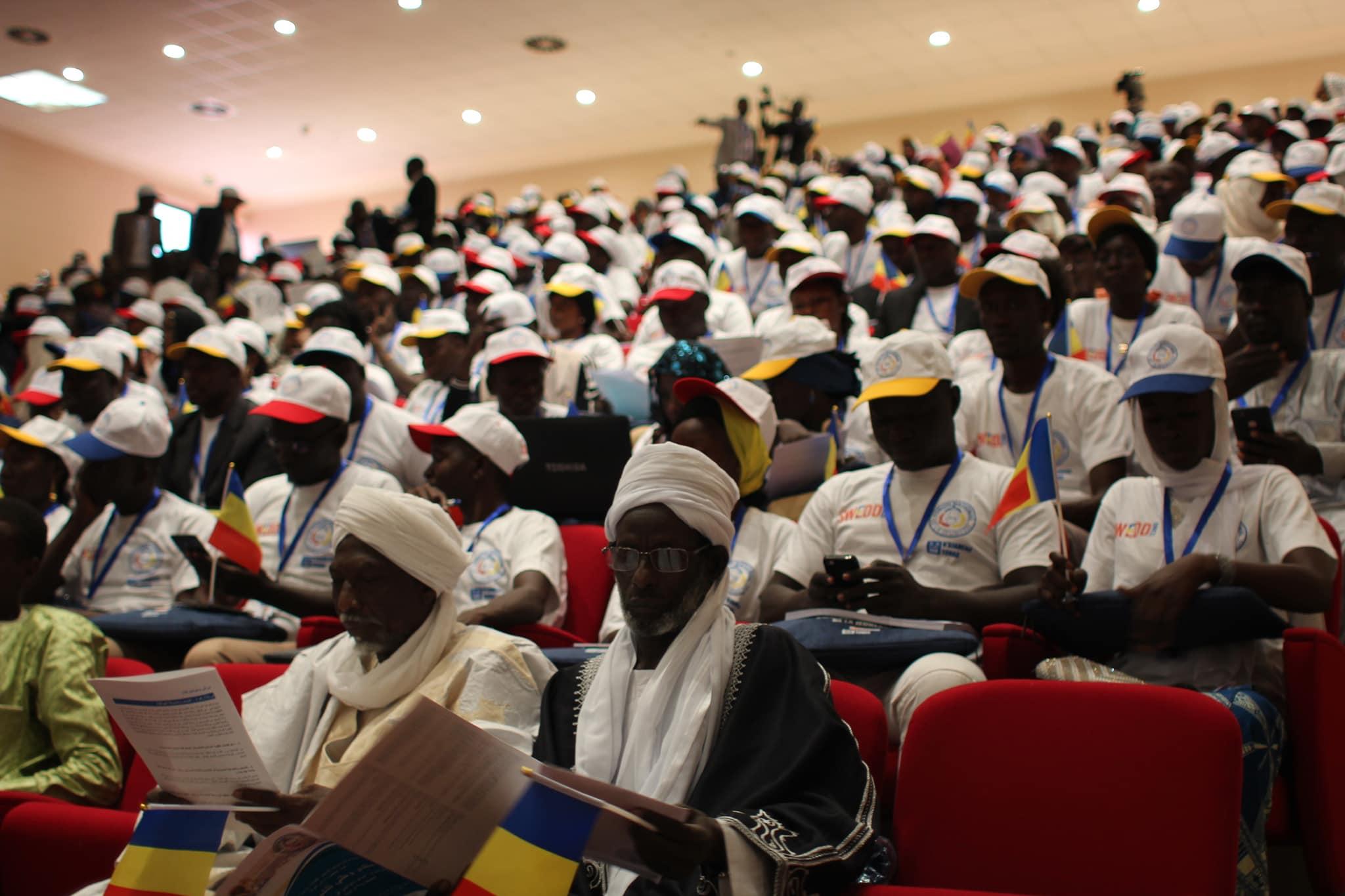 Le forum national de la jeunesse en 2018 à N'Djamena. © DR