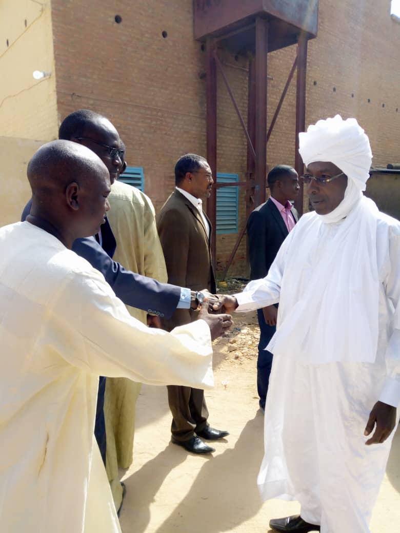 Le gouverneur de la province du Ouaddaï, Abdramane Erdebou. © Alwihda Info
