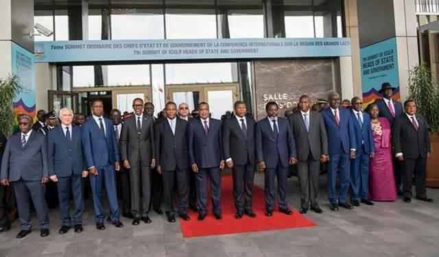 Les chefs d'Etat et de gouvernement de la CIRGL (photo d'archives).
