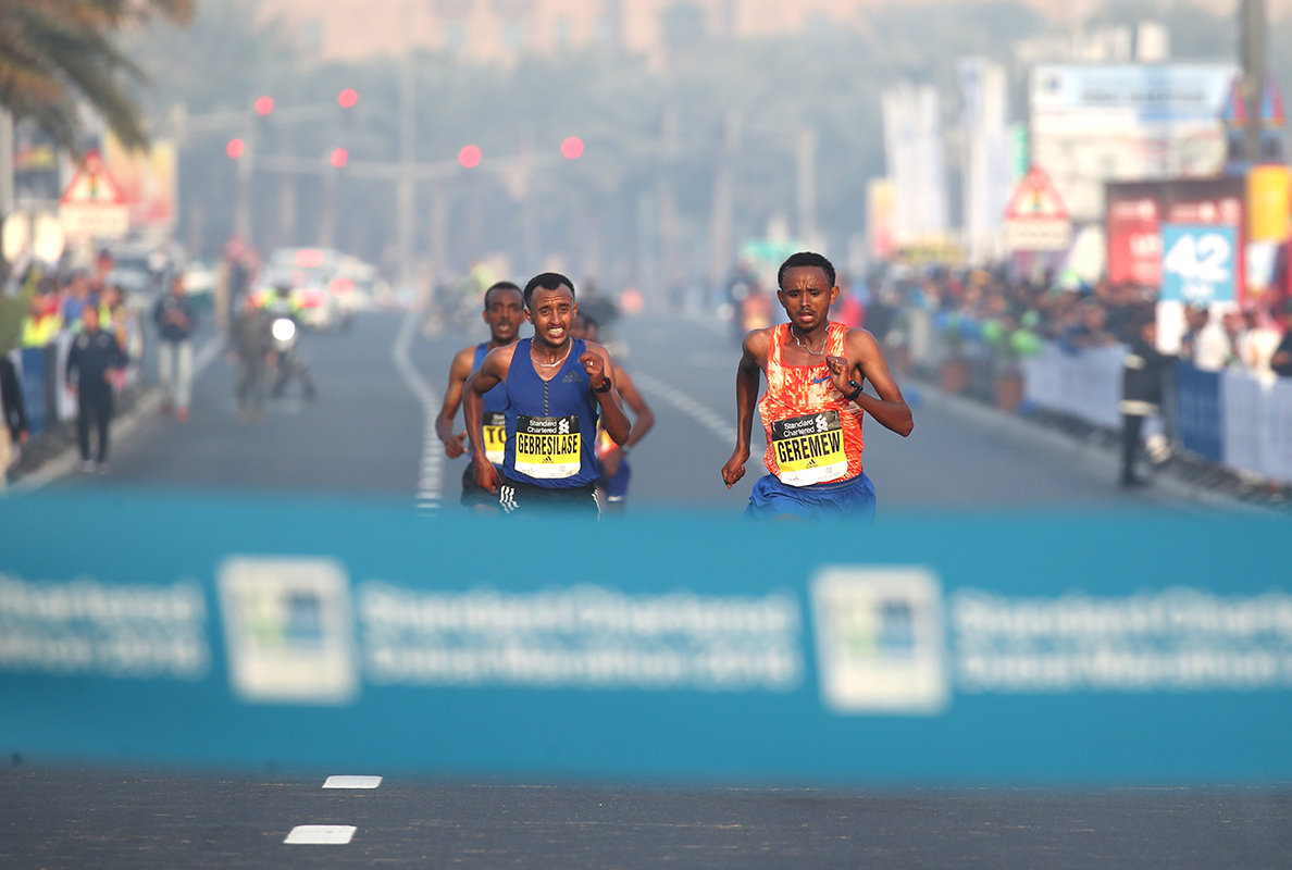 Last year's close finish in the Standard Chartered Dubai Marathon helped take the event to the top of the IAAF Marathon Performance Rankings.