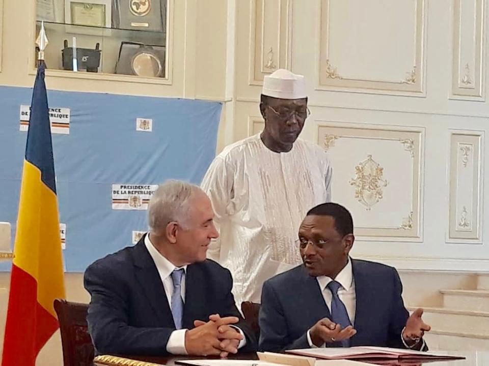 Tchad-Israel : des accords de coopération signés entre les deux pays. © Alwihda Info