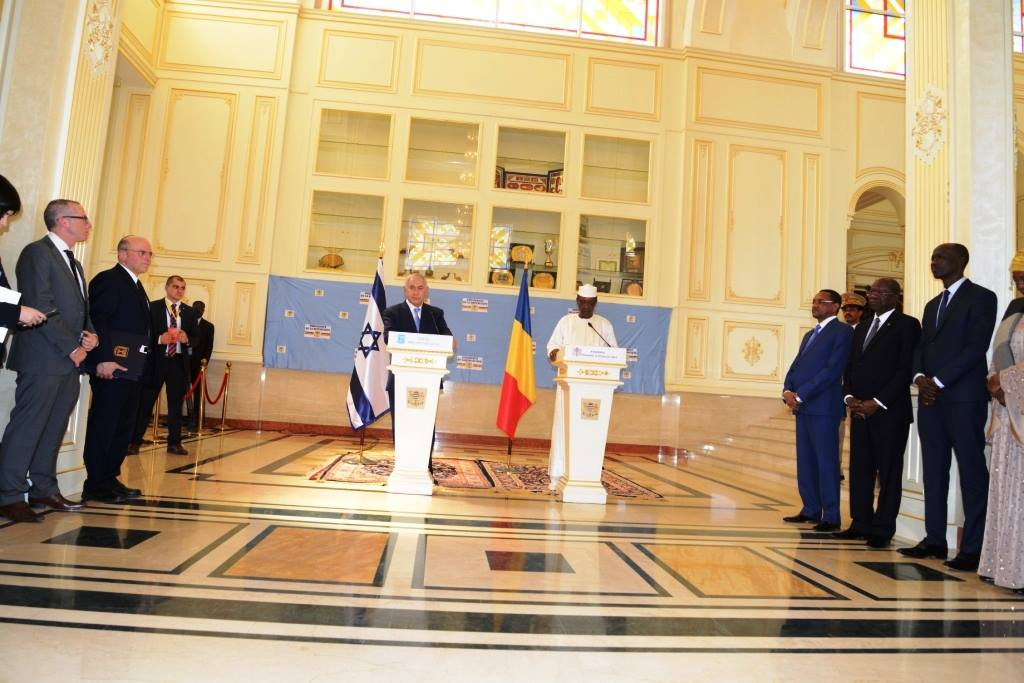 Idriss Déby appelle au dialogue entre Israël et la Palestine