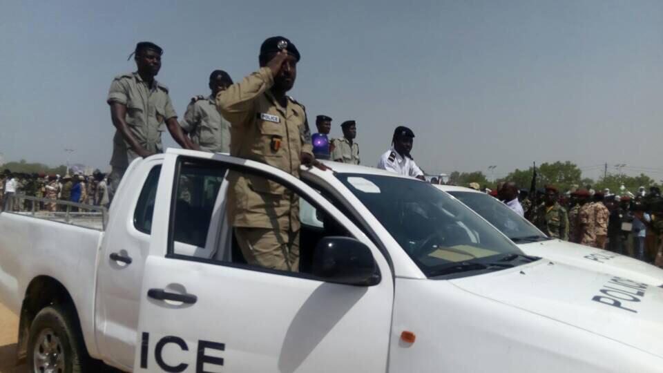 Des policiers au Tchad. © Alwihda Info