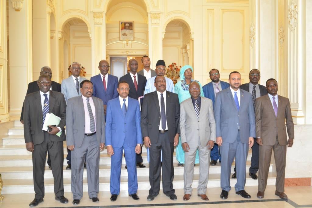 Le Tchad et le Soudan vont amplifier leur coopération dans tous les domaines. © Pr