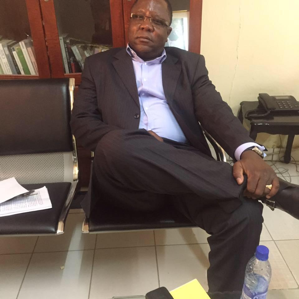 Le secrétaire général aux questions juridiques et politiques du Mouvement Patriotique du Salut (MPS), Jean Bernard Padaré. © DR